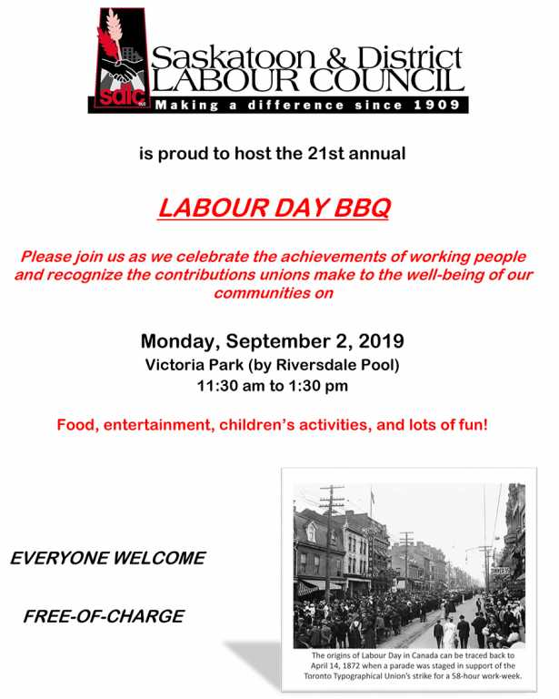 Labour Day BBQ 2019